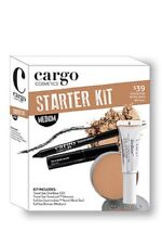 Cargo Cosmetics Makeup Starter Kit Medium New In Sealed Box