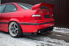 Original FANCYWIDE  rear diffuser for BMW E36 M3 / Non M3