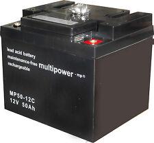 Fahrbatterie Batterie AGM Krankenfahrstuhl Rollstuhl MP50-12C GB12-50 12v 50Ah