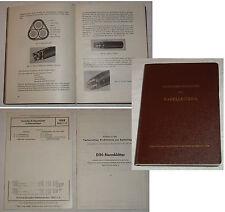 Technische Richtlinien zur KABELLEGUNG 1956 TOP Zustand