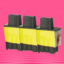 3P LC 41 Y YELLOW INK CARTIRDGE FOR BROTHER 1840C 2440C