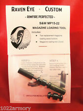 M&P 15-22 Loading assist tool, speedloader and 2 BLACK loading assist buttons