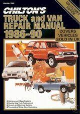Truck & Van 1986-90 Chiltons Repair Manual COLLECTOR'S EDITION