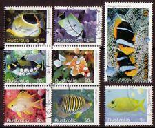Australie 2010 Poisson SEA LIFE ENSEMBLE DE 8 très bien utilisé