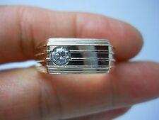 STUNNING 14K YG MEN'S DIAMOND RING SIZE 11.5  .25 CARAT  G90288