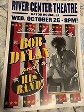 Bob Dylan Tour Poster Baton Rouge 2016
