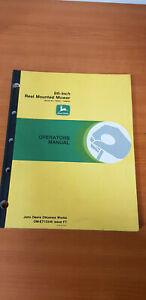JOHN DEERE 86-INCH REEL MOUNTED MOWER OPERATORS MANUAL (OM-ET13346) ISSUE F7