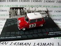 RIT30M 1/43 IXO Altaya Rallye Italie : MINI COOPER S Monte Carlo 1964 Hopkirk