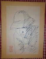 Vietnam Liberation War Art - A RECONNAISSANCE SCOUT - 1964 - VC, Viet Cong - 33
