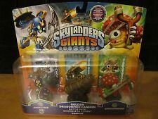 Skylanders Giants Adventure Battle Pack Golden Dragonfire Cannon Chop 3 pack NEW