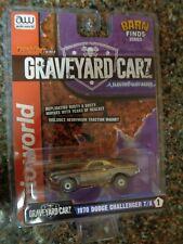 Auto World 1970 Dodge Challenger T/A Graveyard Carz ThunderJet Slot Car NEW