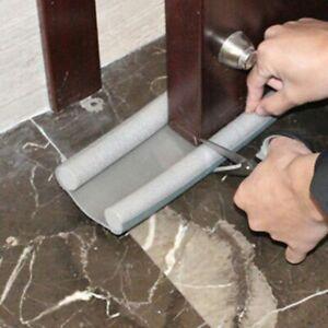 95CM Flexible Door Bottom Sealing Strip Guard Wind Sealer Stopper Door Wind Dust