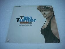TINA TURNER  / THE VIDEO COLLECTION Europe Laserdisc Pal version