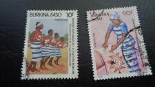 Burkina Faso/ Küchengeräte Minr 1267 O Afrika Briefmarken