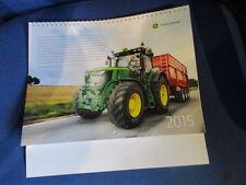 Kalender 2015 Wandkalender orig.John Deere neutral oh. Händlerdruck Sammlerstück