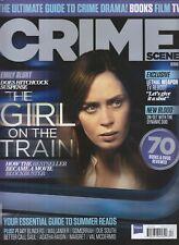 EMILY BLUNT GIRL ON THE TRAIN CRIME SCENE MAGAZINE JUN 2016 FUTURE PUBLISHING UK