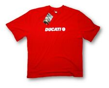 T-SHIRT Ducatiana Adult MotoGP Bike Ducati Motorcycle NEW! Red 1902 Size XXXL