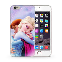 Frozen Elsa Anna Kid Disney Cartoon Phone Case Cover For iPhone 4 5 6 7 8 Plus