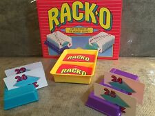 Vintage (1992) RACK-O Card Game PARKER BROTHERS No. 40073 COMPLETE