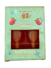 Bath and Body Works Art Stuff Wallflower Bulbs Stylin' Strawberry Plug Ins 2000s