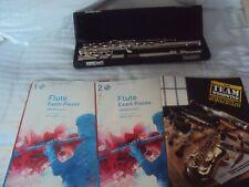 Beginners Flute set 3 books and Flute ABRSM Grade 1 & 2 & Team woodwind