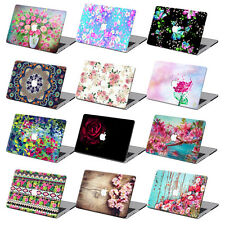 "For Macbook Air 11""12""Pro 13""15""Retina Flower Hard Laptop Case Floral Shell + KB"