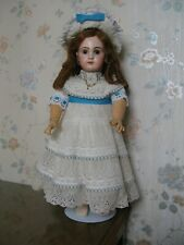 """20"""" ANTIQUE FRENCH JUMEAU DOLL CIRCA 1890 CLOSED MOUTH"""