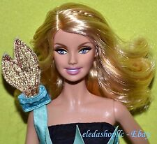 Pink Label Dolls Of The World Landmark Collection Statue Of Liberty Barbie Doll