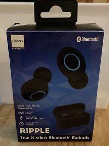 Muze by Vivitar True Wireless Bluetooth Earbuds New In Box