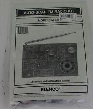 Brand New ELENCO FM-88K Auto-Scan FM Radio Kit (Soldering Version)