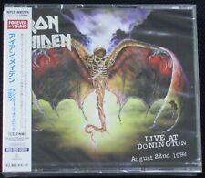 Iron Maiden - Live at Donington 1992 (Parlophone) New Sealed Remastered 2 CD