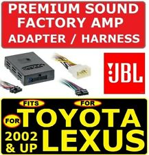 FOR 02 & UP TOYOTA & LEXUS CAR STEREO RADIO PREMIUM SOUND AMP ADAPTER JBL