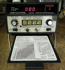 Sencore LC53 Z Meter Capacitor Value & Leakage & Inductor & Transformer Analyzer