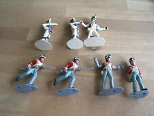 Timpo 1:32 French Infantry Battle of Waterloo 7 Figures Pre-owned