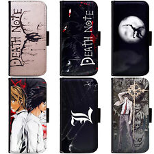PIN-1 Anime Death Note Phone Wallet Flip Case Cover for HTC Nokia Oppo Xiaomi