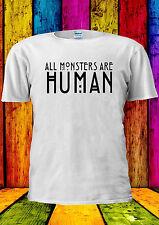 All Monsters Are Human Funny Tumblr T-shirt Vest Tank Top Men Women Unisex 1772