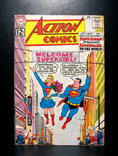 COMICS: DC: Action Comics #285 (1962), Supergirl's existence revealed to world
