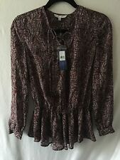 NWT - Rebecca Minkoff Silk Long Sleeve Blouse - Size XS