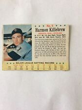 1963 Harmon Killebrew No. 5 Post cereal box card. original owner. Good condition
