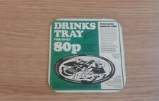 Coates Somerset Cider - Tray Offer - Beermat - 1977