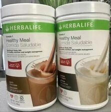 NEW 2 x HERBALIFE FORMULA 1 HEALTHY MEAL SHAKE MIX ALL FLAVORS / FREE SHIPPING