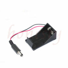 PC Holder Box Case Wire Plug 5.5 x 2.1mm Arduino for 6F22 9V 9V 9 Volt Battery