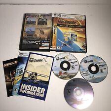 Microsoft Flight Simulator X: Gold Edition Complete (PC: Windows, 2008)