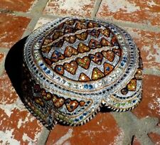 UZBEK AFGHANI TURKMEN TRADITIONAL EMBROIDERED HAT BELLY DANCE W/ FREE SHIPPING