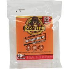 "6 Pk Gorilla 4"" X 0.43"" Dia Standard Clear Hot Melt Glue Sticks 30/Pk 3033002"