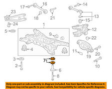 HONDA OEM Rear Suspension-Differential Carrier Insulator 50712S3VA01