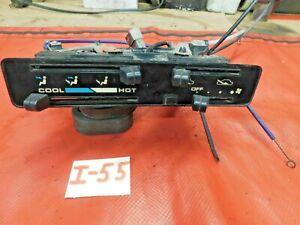 Suzuki Samurai, Climate Control, Fan Switch, Cables, & Face Plate, Original, !!
