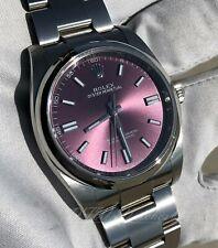 Rolex Oyster Perpetual 36 Red Grape 116000 Purple 36mm No Date