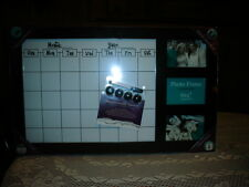 Magnetic Monthly Organizer Memo White Board & Photo Frames