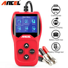 12V Car Battery Tester Analyzer 100-2000CCA Test Battery Health Tester BA201